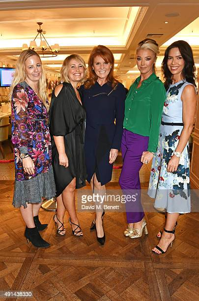 Astrid Harbord Mika Simmons Sarah Ferguson Duchess of York Tamara Beckwith and Josephine Daniel attend the annual ladies' lunch in support of the...
