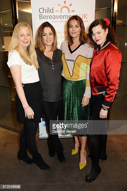 Astrid Harbord Natalie Pinkham Yasmin Le Bon and Jasmine Guinness attend a Ladies' Winter Lunch in aid of Child Bereavement UK at The Bulgari Hotel...
