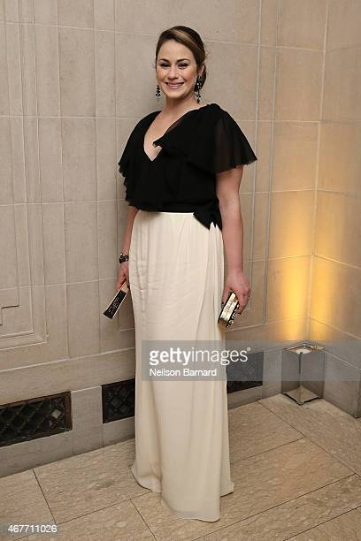 Astrid Hill attends the The Frick Collection 2015 Young Fellows Ball A Dance at the Spanish Court sponsored by LANVIN at The Frick Collection on...