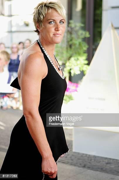 Astrid Kumbernuss attends the 'Goldene Sportpyramide Award' at the Adlon Hotel on May 31 2008 in Berlin Germany