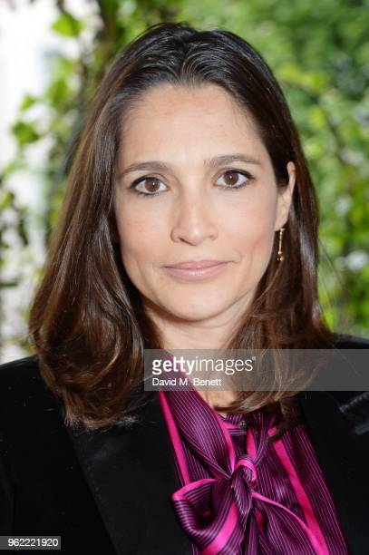 Astrid Munoz attends a private dinner hosted by Cartier to celebrate the opening of the British Polo Season at Casa Cruz on May 24 2018 in London...