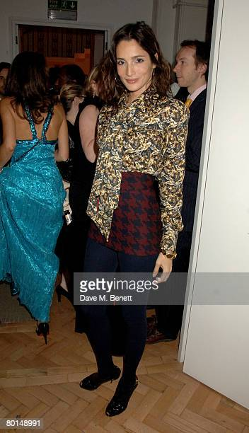 Astrid Munoz attends the TOD's Art Plus Film Party, at 1 Marylebone Road on March 6, 2008 in London, England.