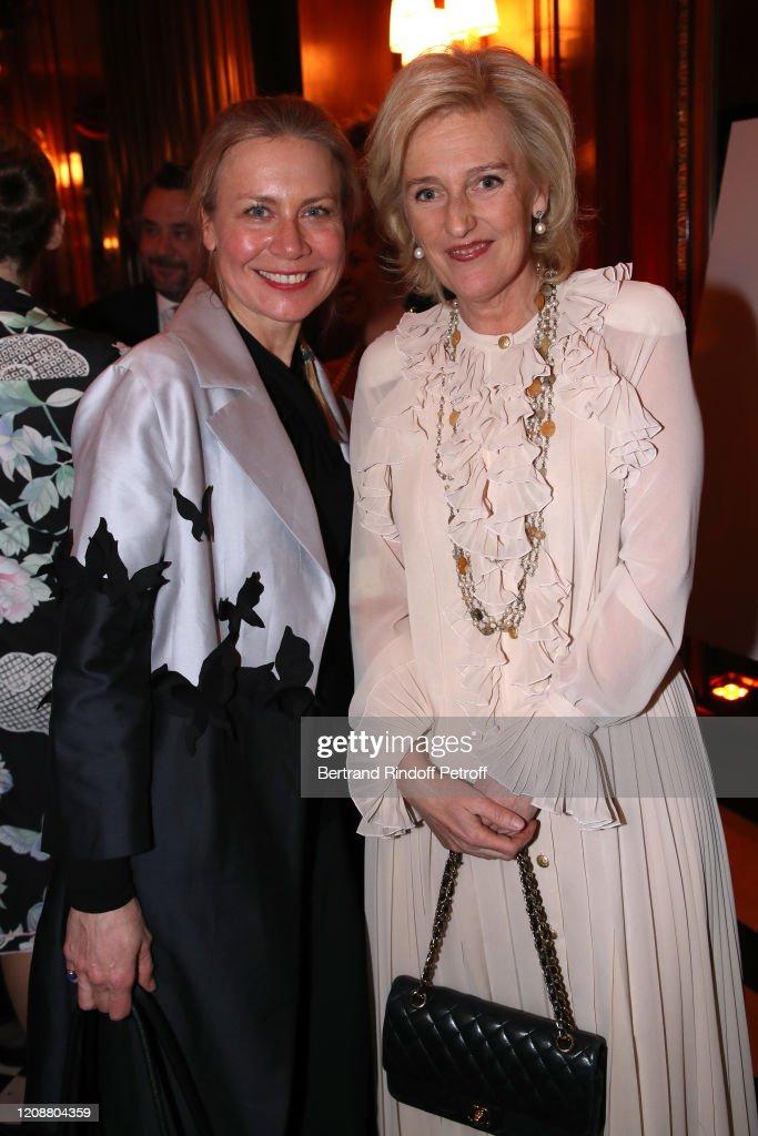 Regine Mahaux : Exhibition At Hotel Raphael In Paris : News Photo