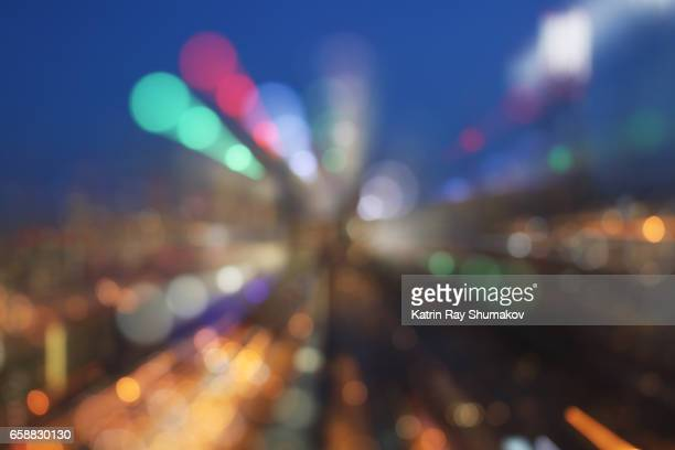Astro Projection. Dreamscapes of Sparkling Cityscapes