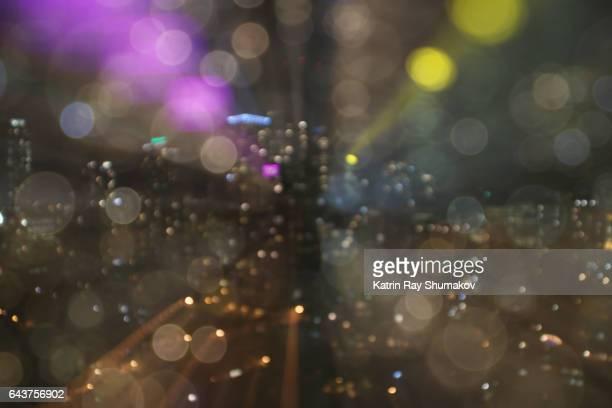 Astro Projection. Night Dreams in City Dimensions