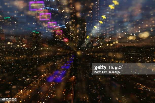 Astro Projection. Sparkling Dimensions of Night Cityscapes