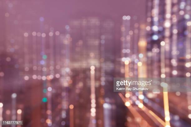 astro projection. upper chakra dimensions of city matrix - atmospheric mood stock pictures, royalty-free photos & images