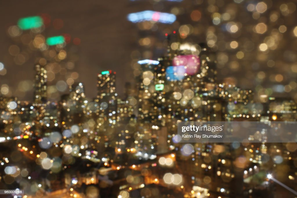 Astro Projection. Vibrant Cityscapes of Night Dimensions : Stock-Foto