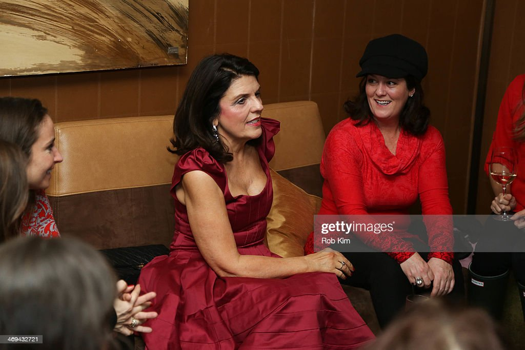 Empire Hotel Valentine's Day Hosted By Susan Miller And Courtney Kerr : News Photo