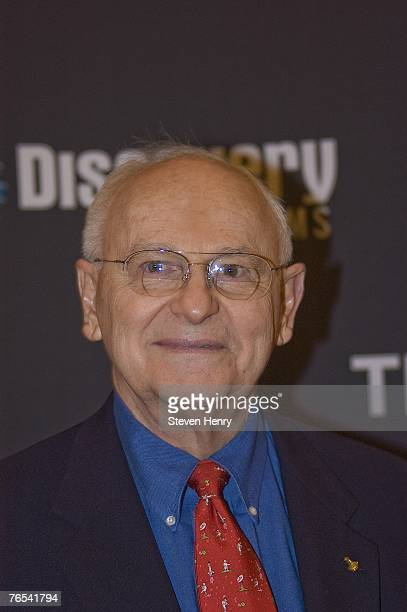 Astronaut Alan Bean attends the premiere of 'In The Shadow Of The Moon' on September 5 2007 at the Musuem of Natural History in New York City