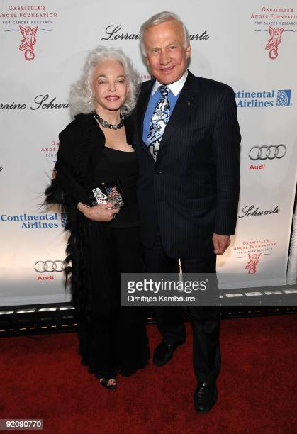Astronaut Buzz Aldrin and wife Lois Aldrin attend 2009 Angel Ball to Benefit Gabrielle�s Angel Foundation hosted by Denise Rich at Cipriani Wall...