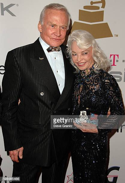 Astronaut Buzz Aldrin and wife Lois Aldrin attend the 2009 GRAMMY Salute To Industry Icons honoring Clive Davis at the Beverly Hilton Hotel on...