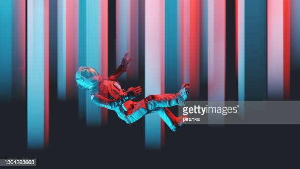 astronaut falling - hd stock pictures, royalty-free photos & images