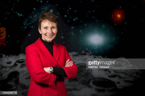 Astronaut Helen Sharman poses for a photograph on January 30 2016 in Swansea United Kingdom Helen Patricia Sharman became the first British astronaut...