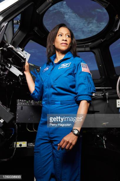 Astronaut Jeanette Epps is photographed for Woman's Day Magazine on April 26, 2017 at Lyndon B. Johnson Space Center in Houston, Texas. PUBLISHED...