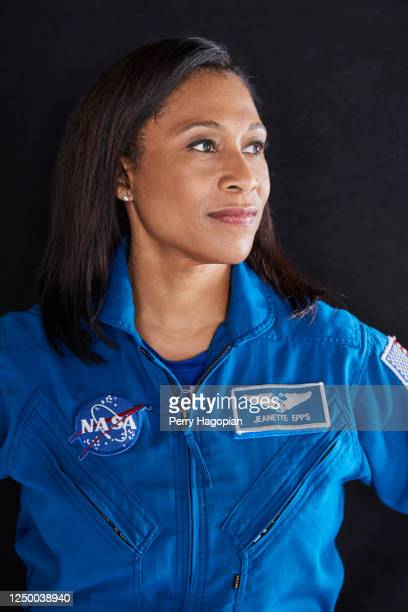 Astronaut Jeanette Epps is photographed for Woman's Day Magazine on April 26, 2017 at Lyndon B. Johnson Space Center in Houston, Texas. COVER IMAGE.