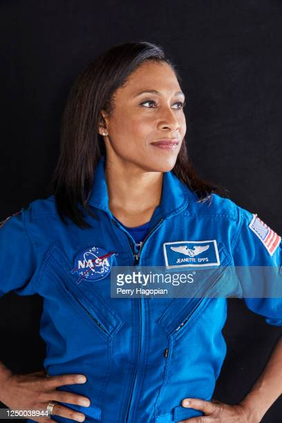 Astronaut Jeanette Epps is photographed for Woman's Day Magazine on April 26, 2017 at Lyndon B. Johnson Space Center in Houston, Texas.