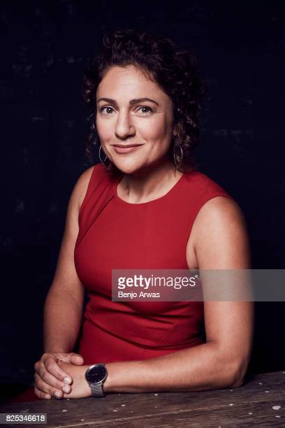 Astronaut Jessica Meir of PBS's 'Beyond a Year in Space' poses for a portrait during the 2017 Summer Television Critics Association Press Tour at The...