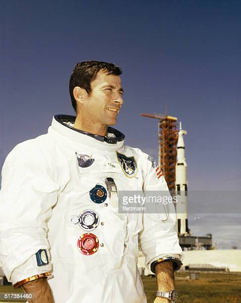 Astronaut John W Young is to be the command module pilot for the Apollo 10 lunar orbit mission scheduled for launch from KSC on May 18th Young will...