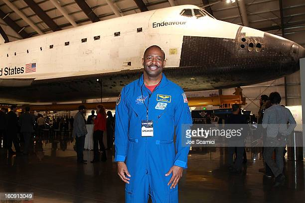 Astronaut Leland Melvin attends WillIAm's annual TRANS4M Day Conference focusing on TRANS4Ming America in 2013 on February 7 2013 in Los Angeles...