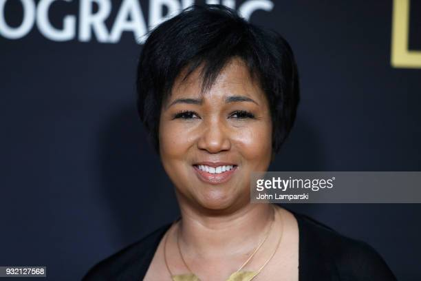 Astronaut Mae C Jemison attends One Strange Rock World Premiere at Alice Tully Hall on March 14 2018 in New York City