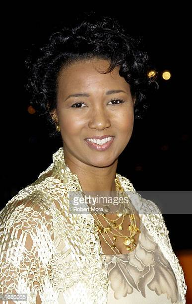 Astronaut Mae Jemison attends the premiere of Star Trek Nemesis at Grauman's Chinese Theatre on December 9 2002 in Hollywood California The film...