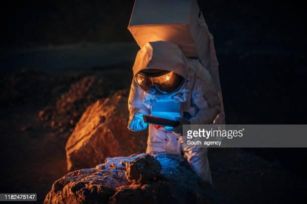 火星の宇宙飛行士 - 宇宙ミッション ストックフォトと画像