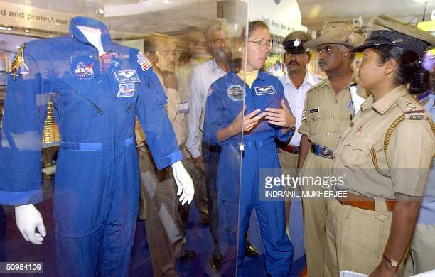 US astronaut Sandra Magnus a colleague of Indian born US astronaut Kalpana Chawla who was killed in the Columbia space shuttle disaster describes her...