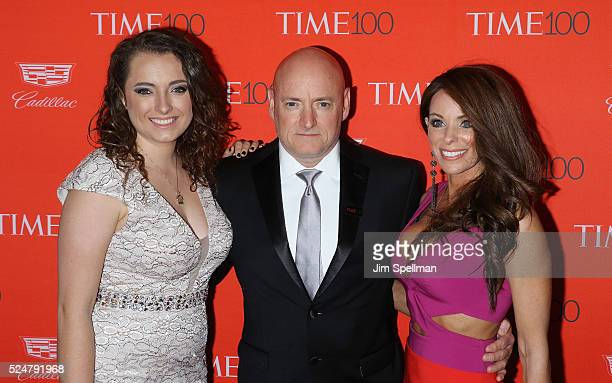 Astronaut Scott Kelly and guests attend the 2016 Time 100 Gala at Frederick P Rose Hall Jazz at Lincoln Center on April 26 2016 in New York City