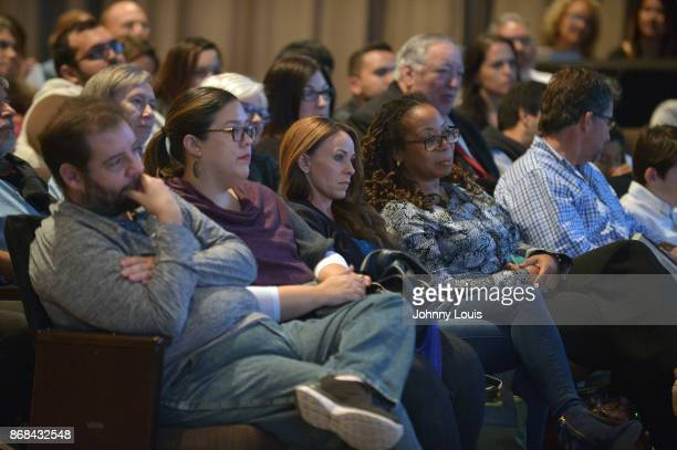 Astronaut Scott Kelly fiance Amiko Kauderer attend Scott Kelly Conversation With Dr Jorge PerezGallego about his new book ENDURANCE A year in space a...