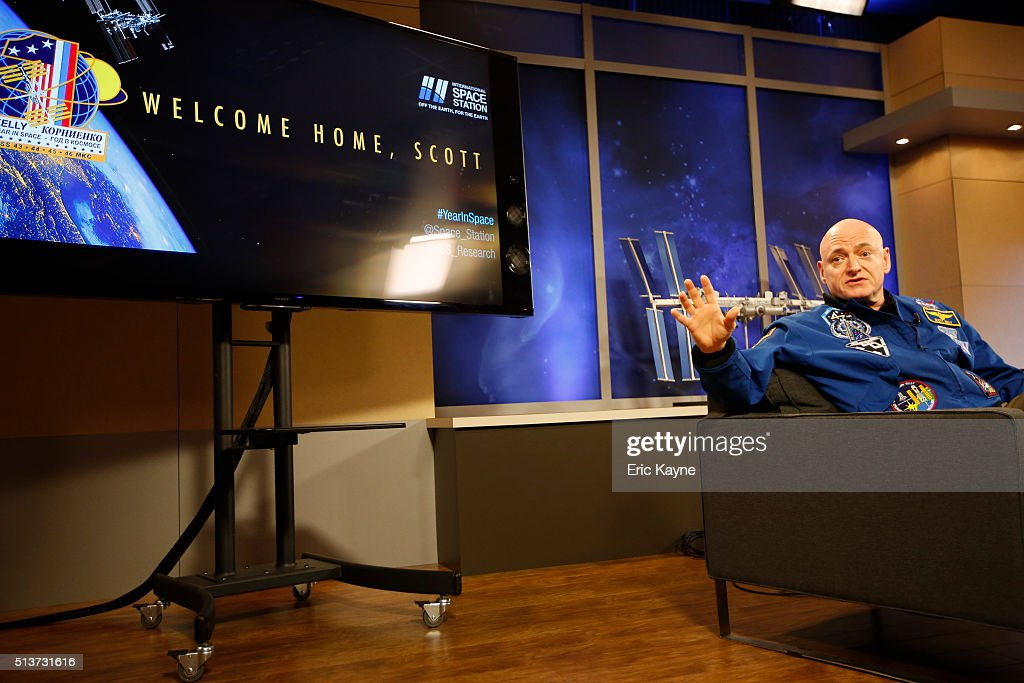 Astronaut Scott Kelly Discusses His One-Year Mission Aboard The ISS