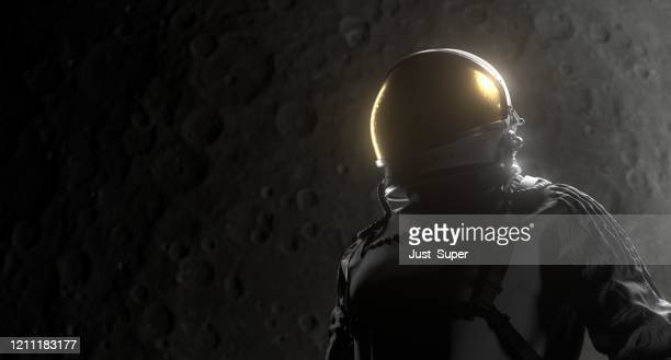 astronaut space black background - nasa stock pictures, royalty-free photos & images