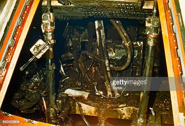 Astronauts Gus Grissom Roger Chaffee and Ed White were killed after a fire erupted in the Command Module of the Apollo 1 spacecraft They were...