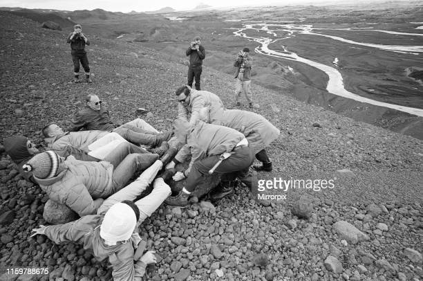 Astronauts have just spend a week in Iceland making a study of the Geology of the Island which is the nearest one can get to moonscape conditions on...
