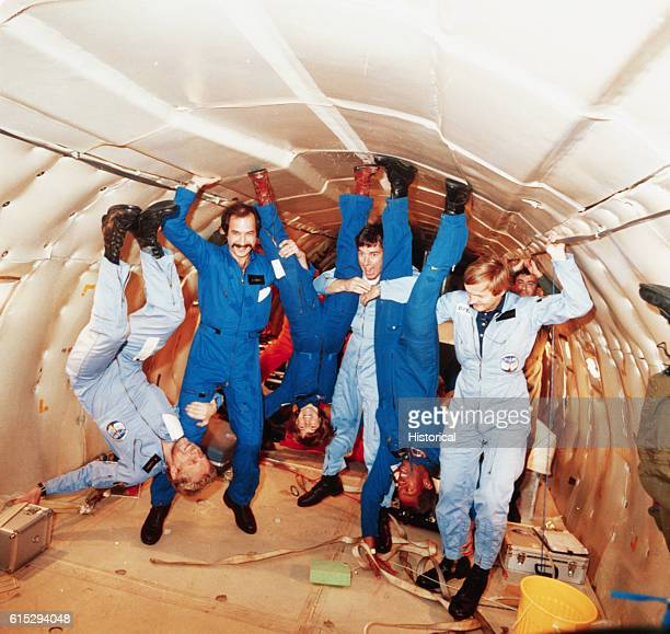 Astronauts in AntiGravity Chamber