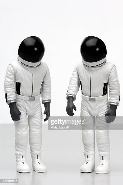 Astronauts in miniature.