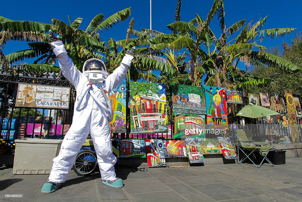 AXE Astronauts invade New Orleans to celebrate the AXE Apollo line products on on February 1, 2013 in New Orleans, Louisiana.