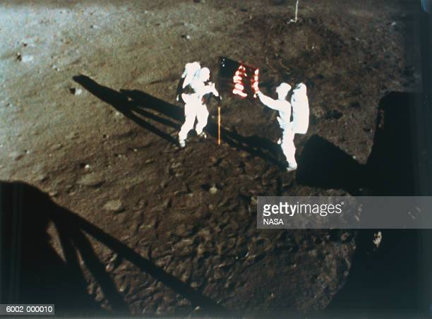 Astronauts on Moon