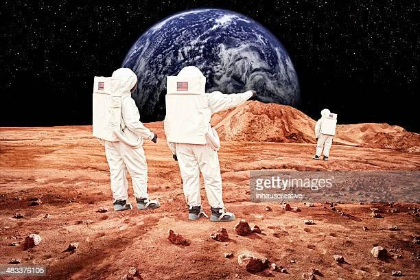 Astronauts planning on Moon