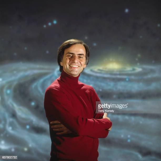 Astronomer Carl Sagan