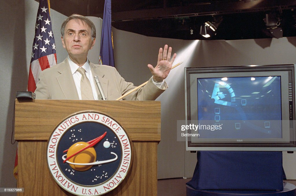 Image result for carl sagan conference