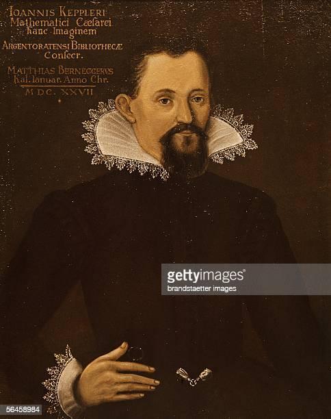 Astronomer Johannes Kepler Oil Musee de l'Oeuvre Notre Dame Strasbourg France [Astronom Johannes Kepler oel l Musee de l'Oeuvre Notre Dame Strasbourg...