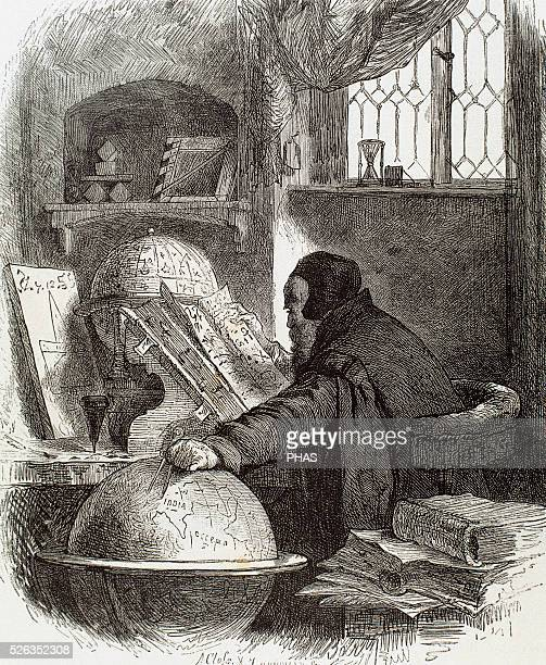 Astronomer Modern Age15th century Engraving 19th century