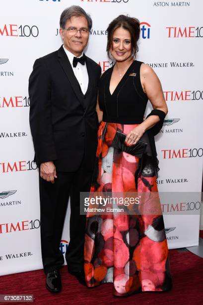 Astronomer Natalie Batalha attends 2017 Time 100 Gala at Frederick P Rose Hall Jazz at Lincoln Center on April 25 2017 in New York City