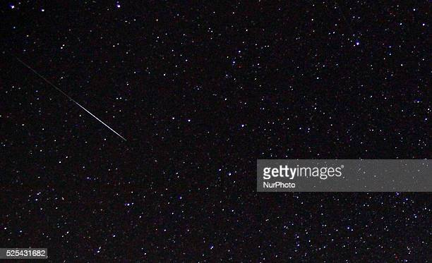 Astronomer observe the Gemenids meteor shower in the observatory of Avren East of the Bulgarian capital Sofia Dec 14 2015 The Geminids are a meteor...