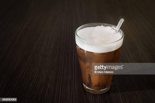 astronomical cappuccino - venus - marc mateos fotografías e imágenes de stock