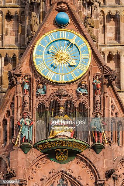 Astronomical clock at the Church of Our Lady