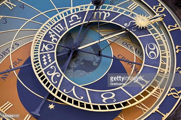 Astronomical clock in Prague Czech republic