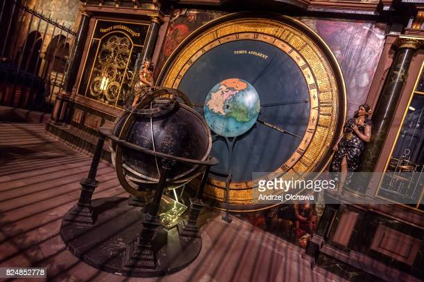 Astronomical Clock located in the Cathédrale Notre-Dame of Strasbourg
