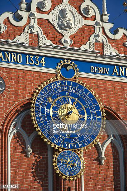 Astronomical Clock on House of Blackheads